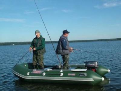 Рыбалка в жилетах