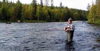 Рыбалка на сильном течении на джиг