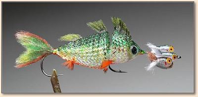 Это что за рыбка? Стримеры на жереха и других рыб, техника изготовления своими руками