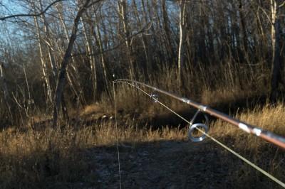 Особенности рыбалки ранней весной в марте на спиннинг