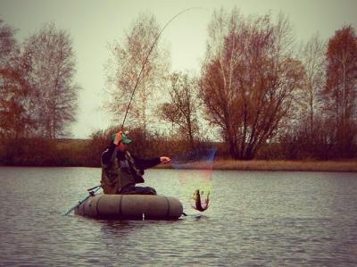 Техника ловли на спиннинг с лодки