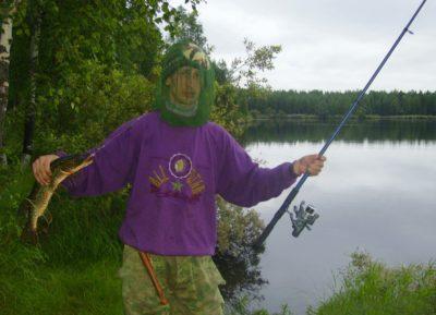Отчет о рыбалке: 23-24 июля 2016 на лесном озере в Архангельской области